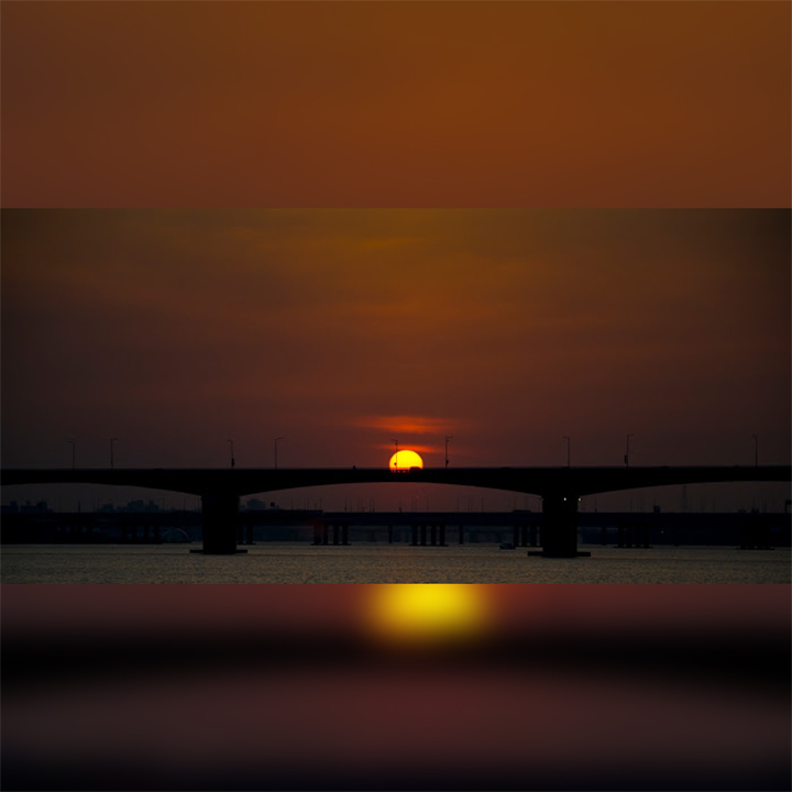 Korea-sunset